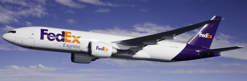 Fedex airplane